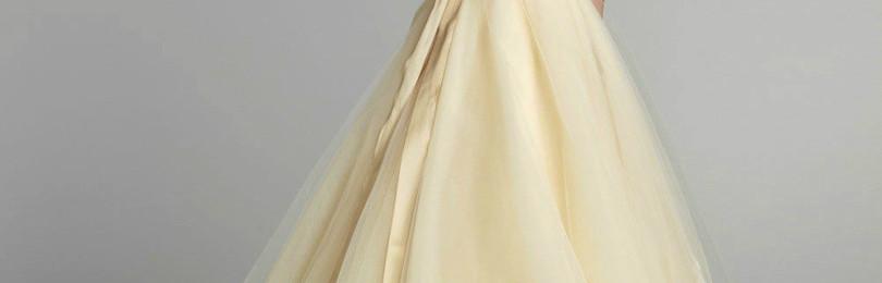 Свадебное платье цвета шампань: особенности, фото
