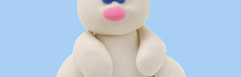 Как слепить зайца из пластилина своими руками