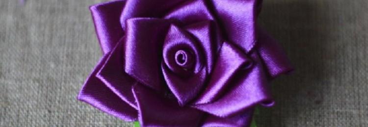 Розы из атласной ленты: как делать своими руками