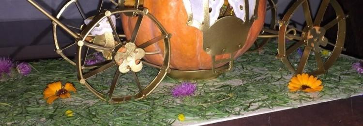 Как сделать карету из тыквы для Золушки своими руками пошагово