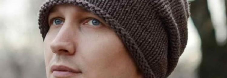 Как связать спицами мужскую шапку бини: схемы и описания