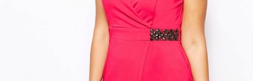 Платья с запахом для полных женщин: вечерние, летние