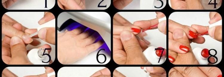 Как правильно наносить гель-лак