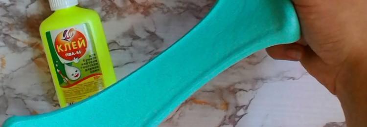 Слайм из перекиси водорода: с клеем и без, с шампунем