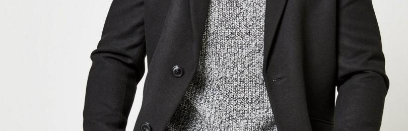 Мужское пальто честерфилд