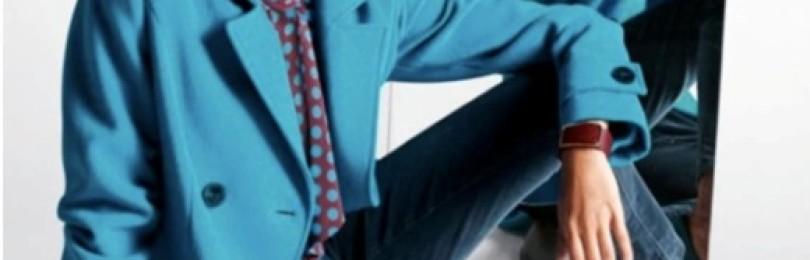 Бирюзовое пальто: с чем носить, фото
