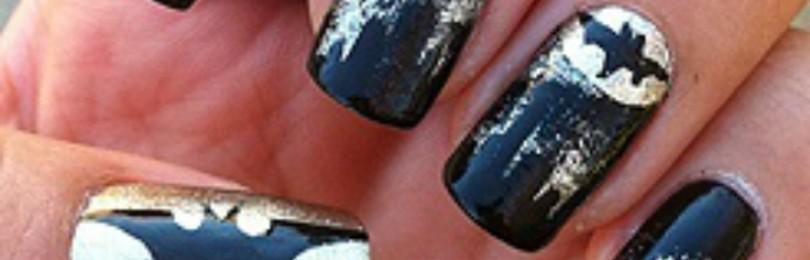 Бэтмен на ногтях
