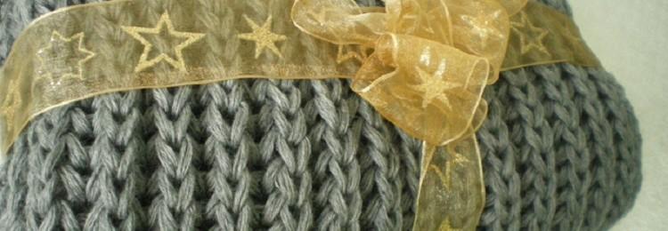 Как связать снуд английской резинкой спицами: в один и два оборота, без шва