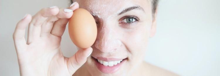 Маска от морщин из белка яйца