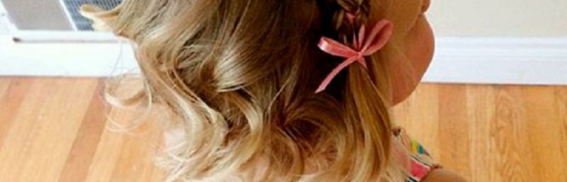 Простые прически на 1 сентября для девочек