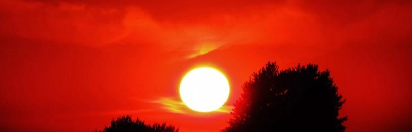 Народные приметы про красный закат: к какой погоде, что предвещает