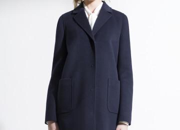 Построение выкройки пальто прямого силуэта