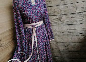Штапельные платья: летние, народные, православные