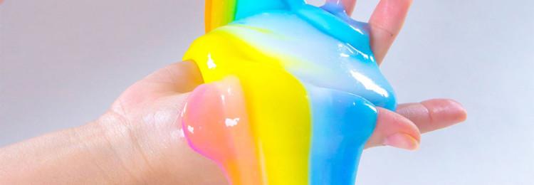 Слайм из моющего средства: с клеем ПВА, яйцом, шампунем