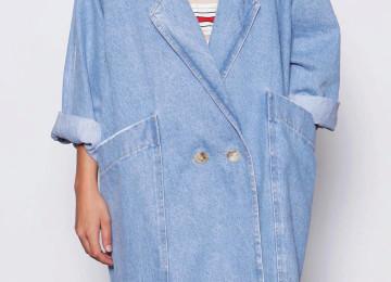 Женское пальто-кокон