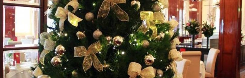 Банты на елку из лент своими руками: как сделать и завязать