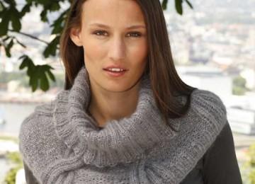 Снуд в один оборот для женщин: размеры и схемы вязания
