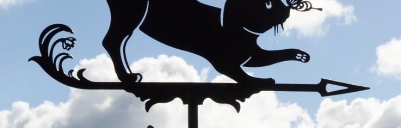 Значение флюгера на крыше дома: символика, приметы и поверья