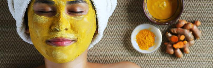 Золотые маски от морщин вокруг глаз с куркумой