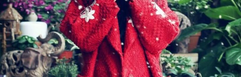Вязаное пальто в стиле бохо и другие модели