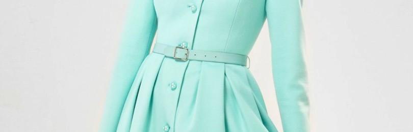 Демисезонное и зимнее платье-пальто