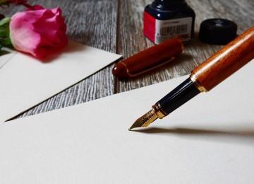 Гадание на парня на бумаге с ручкой