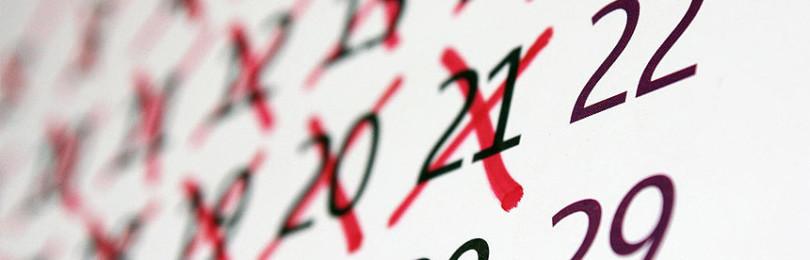 Можно ли зачеркивать дни в календаре крестиком: приметы и суеверия