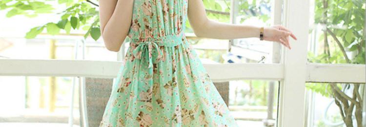 Летнее платье из шифона: фото, красивые модели и фасоны