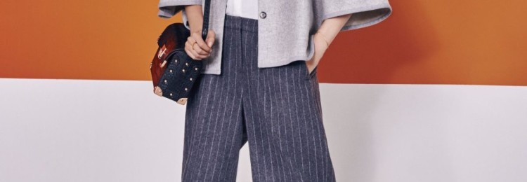 С чем носить брюки-кюлоты осенью и весной