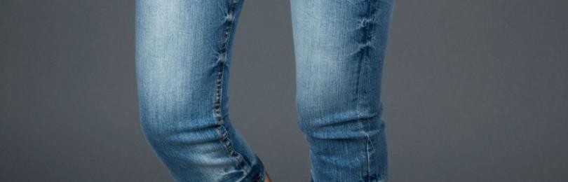 С чем носить джинсовые бриджи