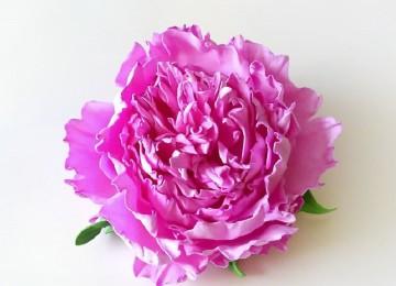 Цветы пионы из изолона: как сделать своими руками, пошаговые мастер-классы