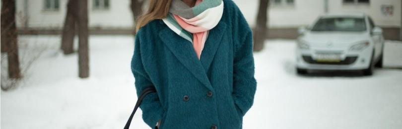 Пальто оверсайз: с чем носить, лук, фото