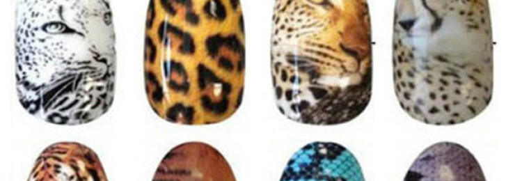 Маникюр тигровый глаз