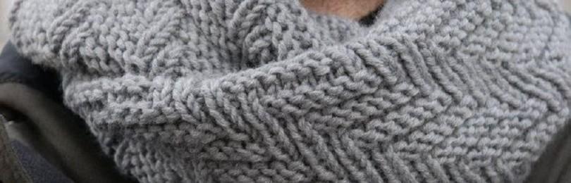 Снуд для мужчины спицами: схемы вязания, фото и видео