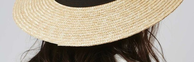 Женская шляпа канотье: описание, история, кому идет, фото