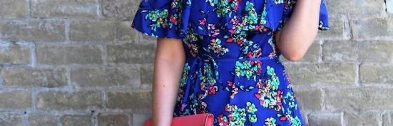 Шифоновые платья с цветочным принтом