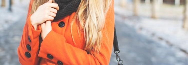 Рыжее пальто: с чем носить, фото