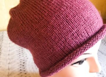 Как связать шапку бини для женщины спицами: новые модели для осени и зимы