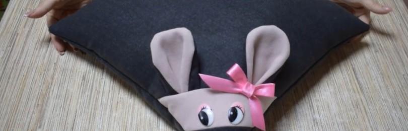 Подушка Крыса своими руками: выкройки и пошаговые инструкции с фото