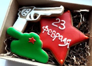 Шоколадные подарки на 23 февраля