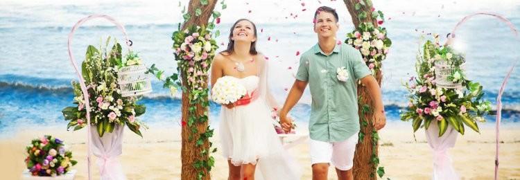 Свадебное платье для пляжной церемонии
