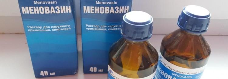 Меновазин при угревой сыпи