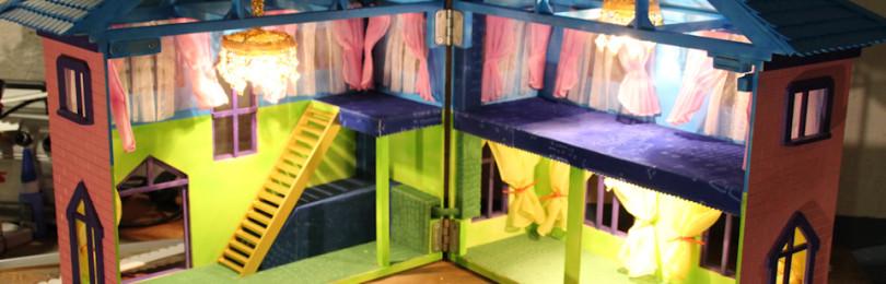 Кукольный домик из картона своими руками: фото, схемы, чертежи с размерами