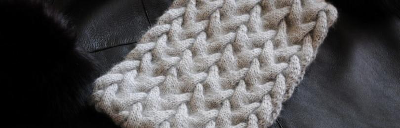 Снуд с косами спицами: схемы вязания, мастер-классы, видео