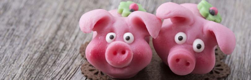 Как слепить свинку из пластилина поэтапно