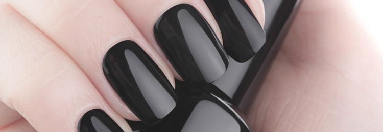 Можно ли красить ногти черным лаком: приметы и суеверия