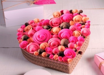 Коробка на день Святого Валентина