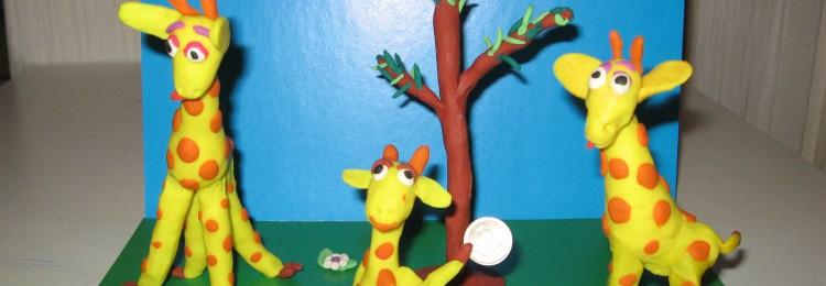 Жираф из пластилина пошагово: как сделать своими руками