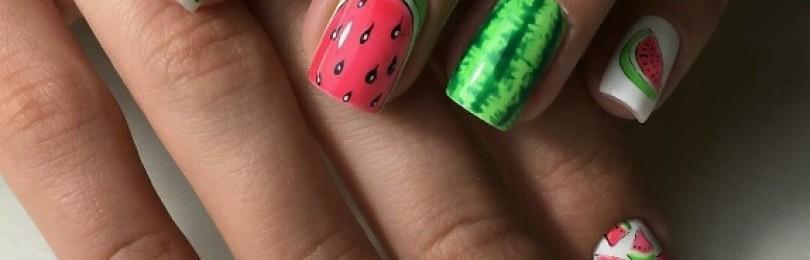 Молодежный дизайн ногтей