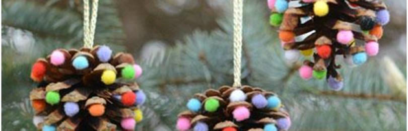 Новогодняя игрушка на елку в детский сад: как сделать своими руками